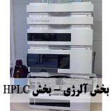 بخش آلرژی تنفس و بخش HPLC